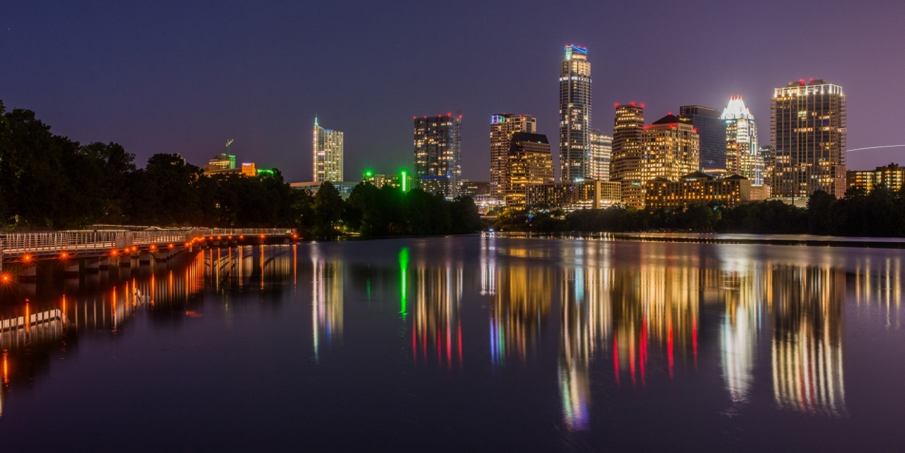 Austin's Lady Bird Lake and Boardwalk in Downtown